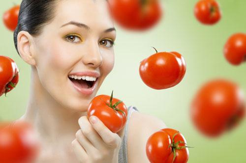 Bạn có thể làm trắng da với cà chua